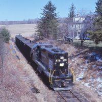 PC GP38-2 8119 at Ramey, PA