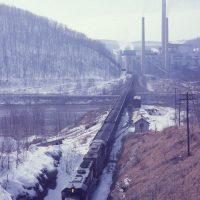 PC loaded coal train at Shawsville, PA