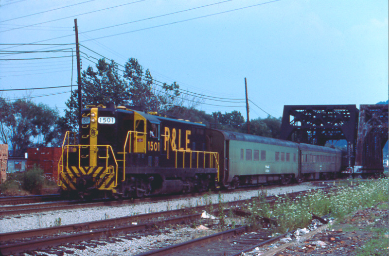 P&LE GP7 1501 McKees Rocks, PA