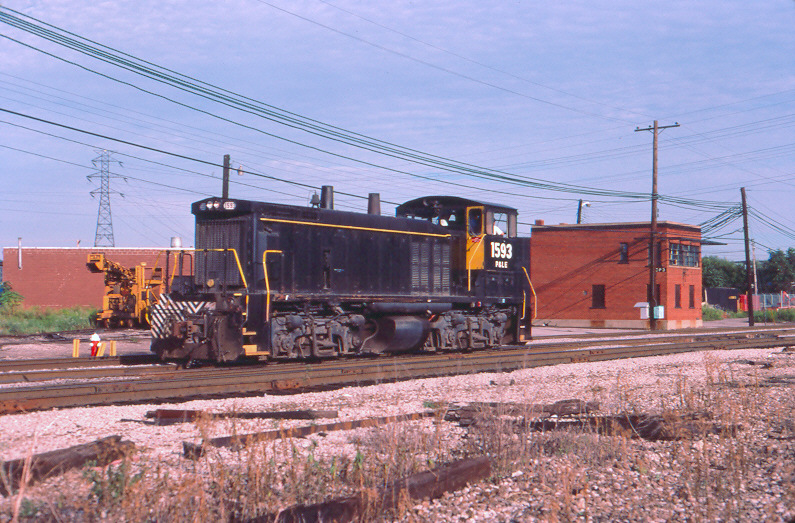 P&LE MP15 1593, McKees Rocks, PA