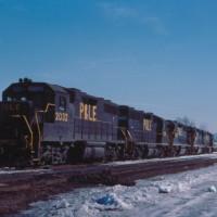 P&LE GP38 2032, Binghamton, NY