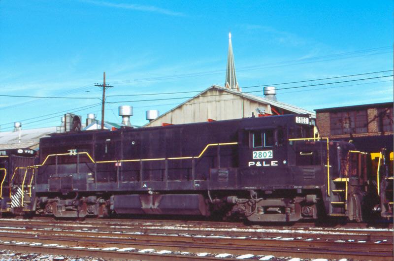 P&LE U28B 2802, McKees Rocks, PA