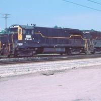 P&LE U28B 2803, McKees Rocks, PA