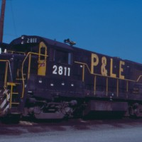 P&LE U28B 2811, Youngstown, OH