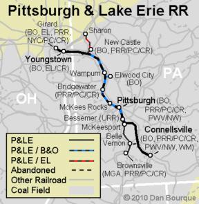 PLE Pittsburgh Lake Erie Appalachian Railroad Modeling