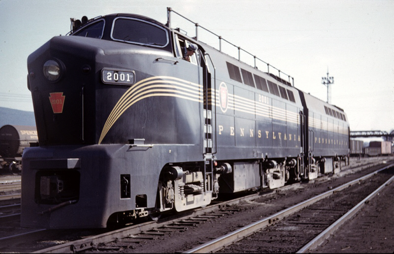 PRR Baldwin Shark 2001 at Altoona, PA
