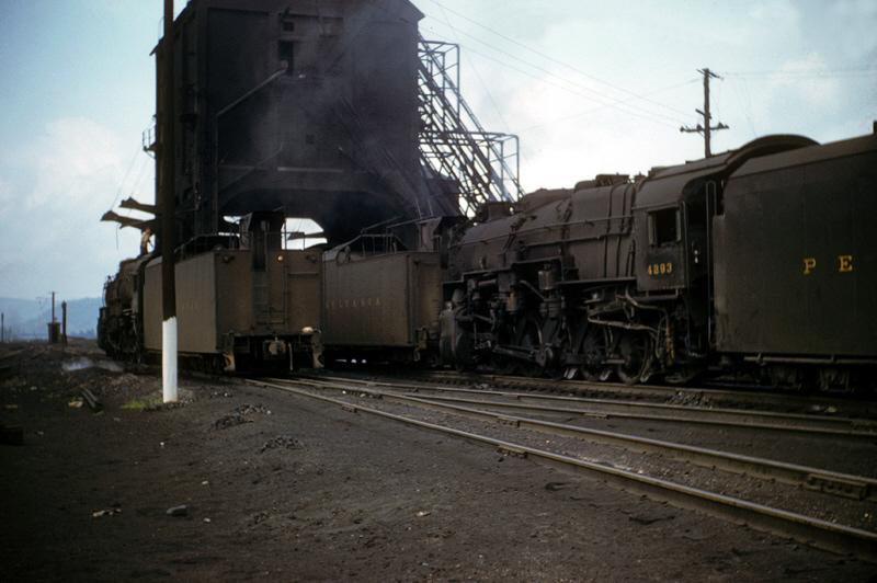 PRR steam at Altoona, PA