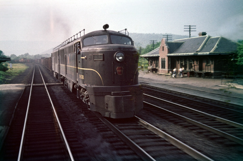 PRR Erie-built 9458 at Miifflin, PA