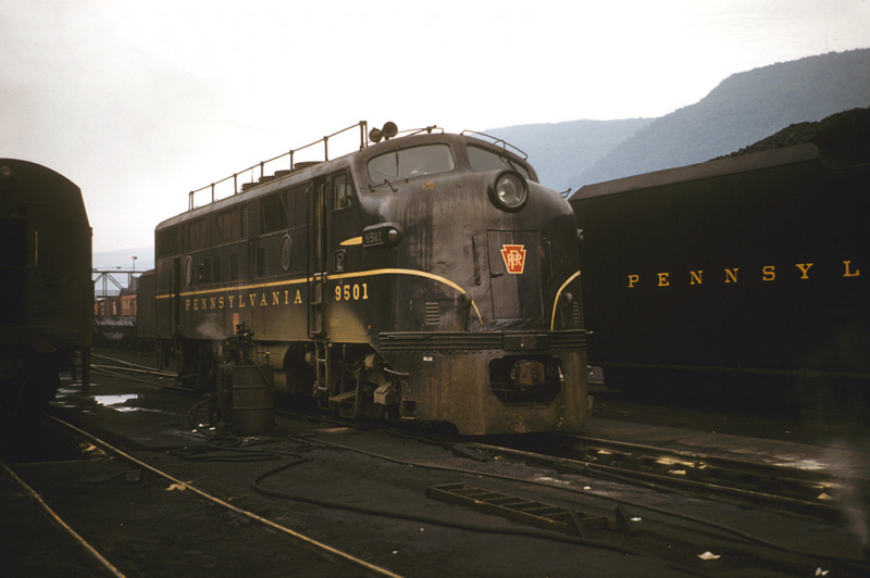PRR F3A 9501 at Renovo, PA