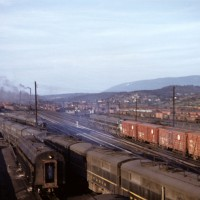 PRR diesels at Altoona, PA