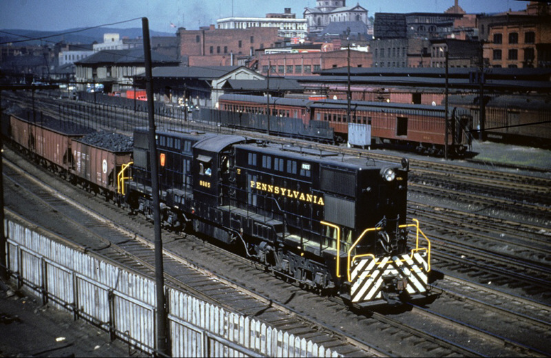 PRR BS24m Centercab at Altoona, PA