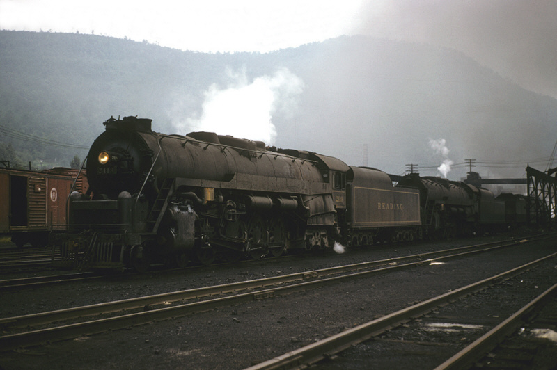 Reading Northern leased by PRR, Renovo, PA