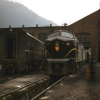 PRR Baldwin Shark at Renovo, PA