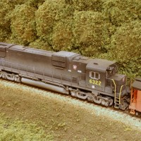 PRR C630 in HO by Stuart Thayer
