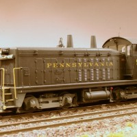 PRR SW7 in HO by Stuart Thayer