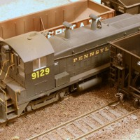 PRR SW9 in HO by Stuart Thayer