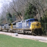 CSX 263 on RJC near Pax, WV