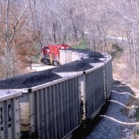 RJC SD40T-2 helpers near Pax, WV