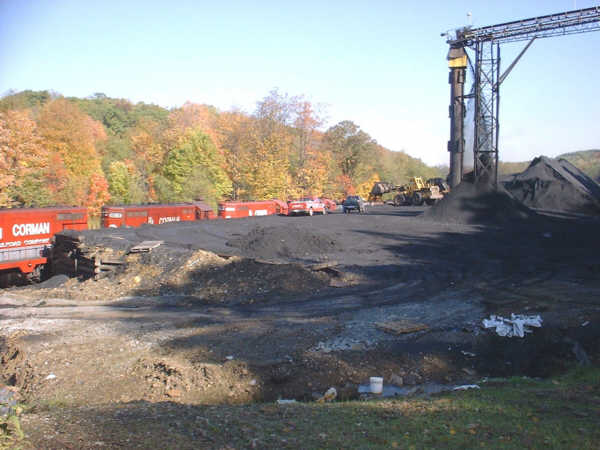RJC train at Clymer, PA