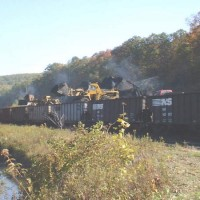 RJC front-end loaders at Clymer, PA