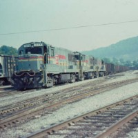 SBD U25B 1608 at Hazard, KY