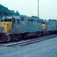 SBD GP38-2 4118 at Hazard, KY