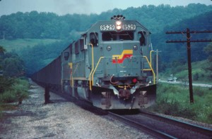 SBD SD50 8529 at Oakdale, KY