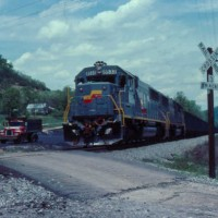 SBD SD50 8533 at Emlyn, KY