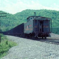 SBD caboose at Emlyn, KY
