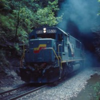 SBD SD50 8533 at Chenowee Tunnel, KY