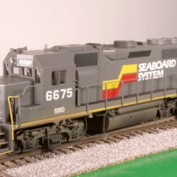 SBD GP40 in HO by Bob Harpe