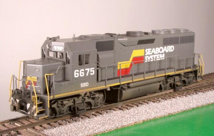 SBD GP40 in HO by Bob Harpe