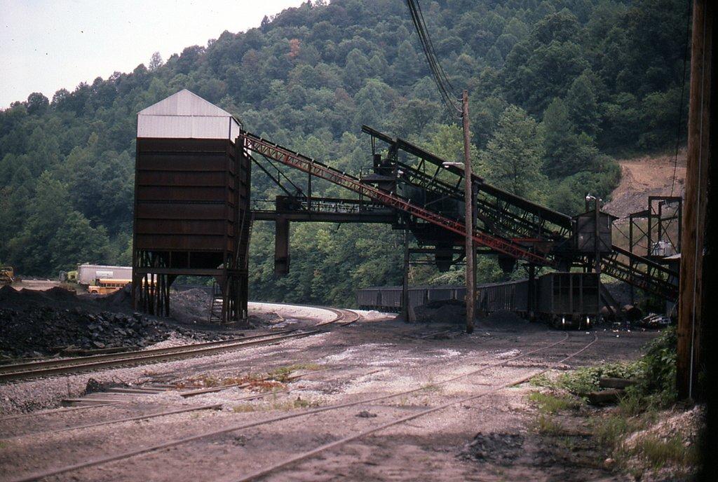 CSX Harbert Construction Co coal loader at Duane, KY