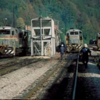 SBD engine tracks, Hazard, KY
