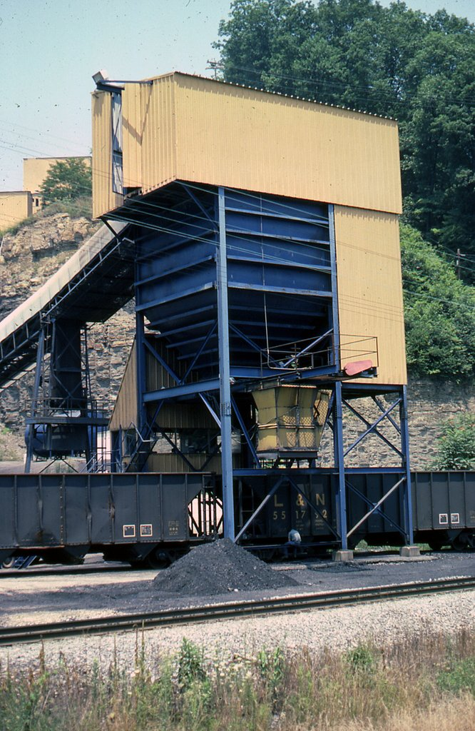 SBD Interstate Coal loader at Elkatawa, KY