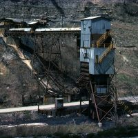 SBD Tesoro Coal Co loader at Wahoo, KY