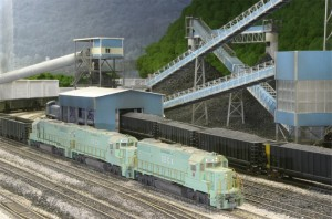 SECX GP38-2s in HO by Robby Vaughn