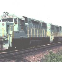SECX GP38-2s at Calla, KY
