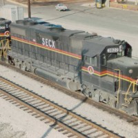 SECX GP38-2 3822 in Louisville, KY