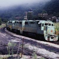SECX GP38-2 3822 at Ulvah, KY