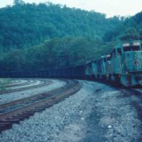 SECX train at Typo, KY