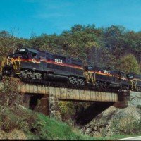 SECX GP38-2 3823 on Elkatawa Hill, KY