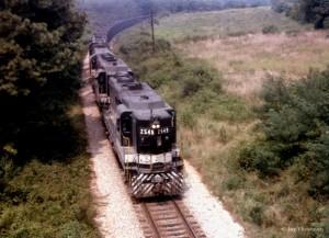 Southern GP30 2549, Athens, TN