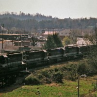 Southern SD40-2 3289 at Lake City, TN