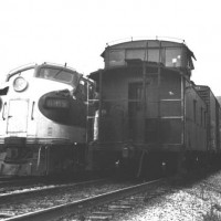Southern F7A 4185 at Big Stone Gap, VA