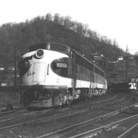 Southern F7A 4210 at Appalachia, VA