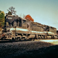 Southern SD24 6347 at Harriman, TN