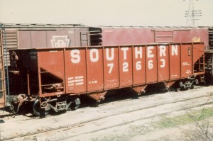 Southern 70T coal hopper