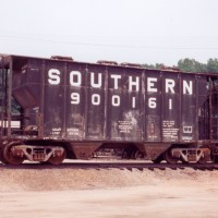 Southern MOW sand hopper at Asheville, NC