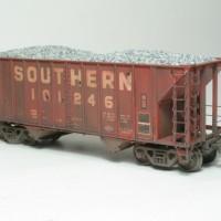 Southern 100T aggregate hopper by Bob Harpe
